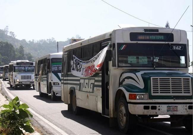 Aumento al transporte público