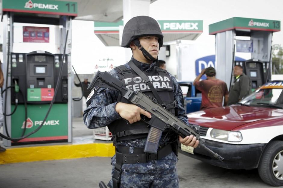 Federales en Oaxaca