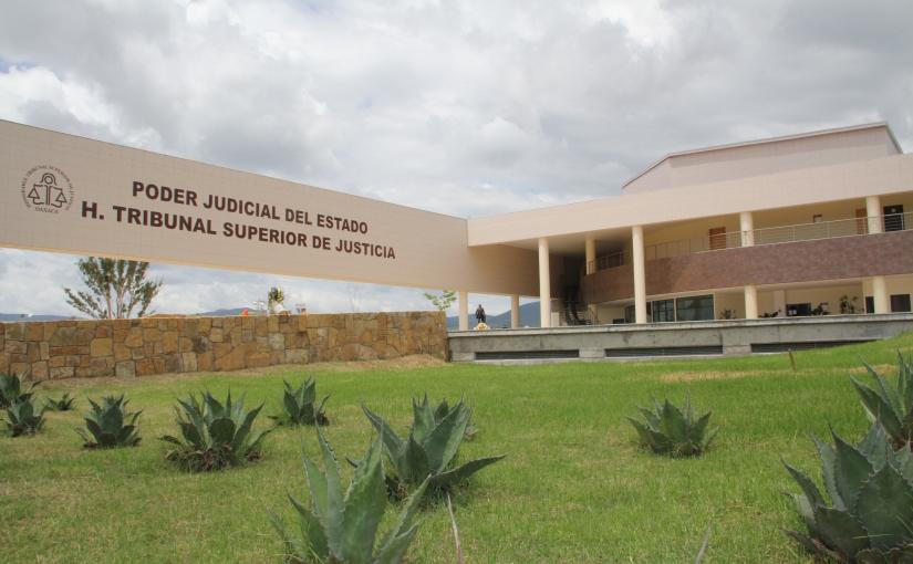 Suspenden actividades en el Poder Judicial de Estado; evalúan daños enestructura