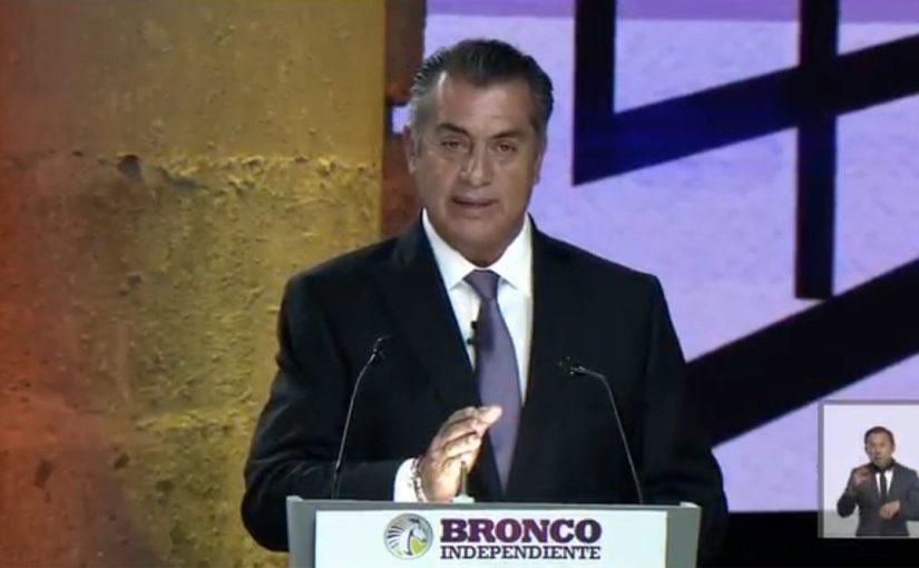 """La candidatura de """"ElBronco"""""""