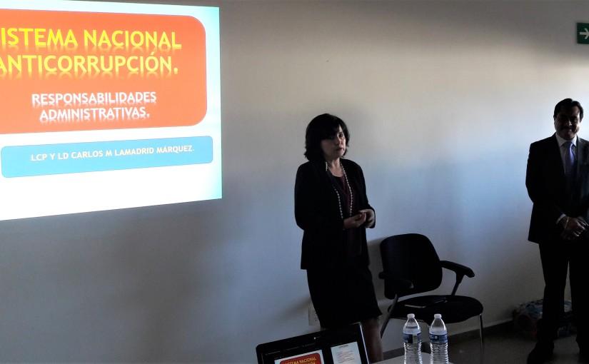 Capacita PJEO a personal en disciplina financiera y sistemaanticorrupción