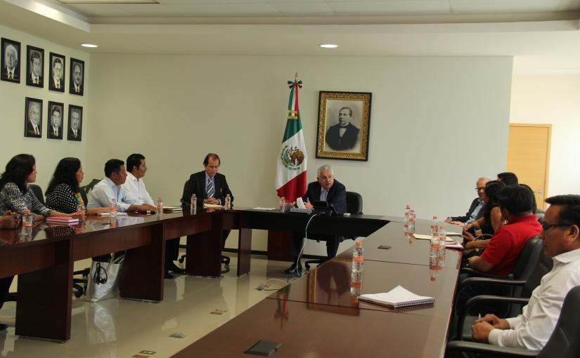 Diálogo cordial entre líderes del SEPJGEOIC y BolañosCacho