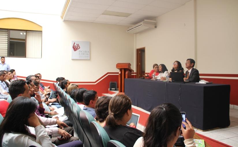 Imparte TSJE seminario de oralidad mercantil a organismo deabogados