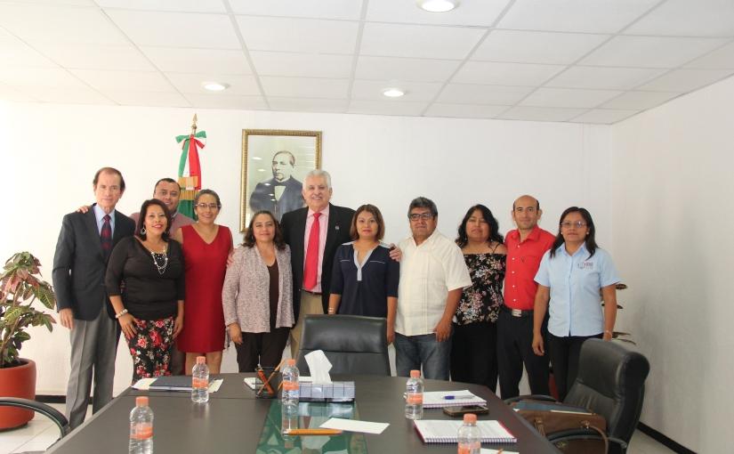 """Se reúne Bolaños Cacho con líderes del sindicato """"Benito JuárezGarcía"""""""