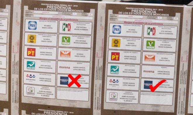 ¿Qué va a pasar con los votos que se emitan a favor de MargaritaZavala?