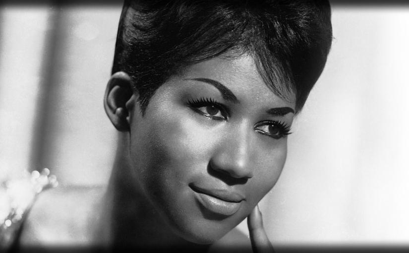 Aretha Franklin. Rindiendo homenaje a la gran dama de lacanción.