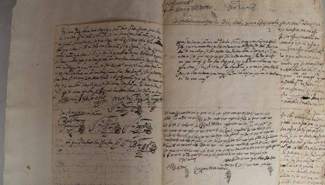 Convenio de Tierras: documento de 1545 que resguarda ArchivoJudicial