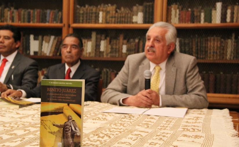 Bolaños Cacho presenta libro de BenítezTreviño
