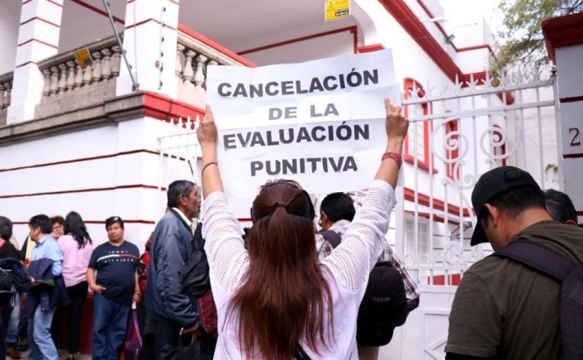 La CNTE no cede: vela armas en espera del decreto derogatorio de la reforma educativa… que nollegará