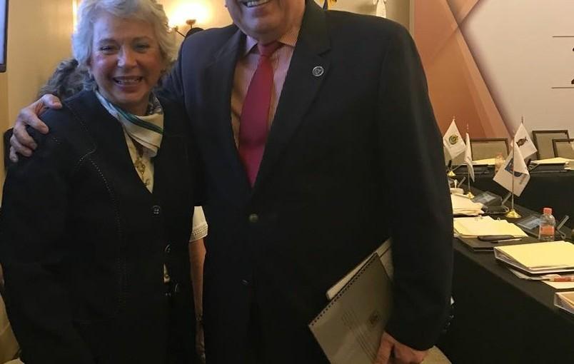 Olga Sánchez Cordero y Raúl Bolaños Cacho coinciden en asamblea plenaria de laConatrib