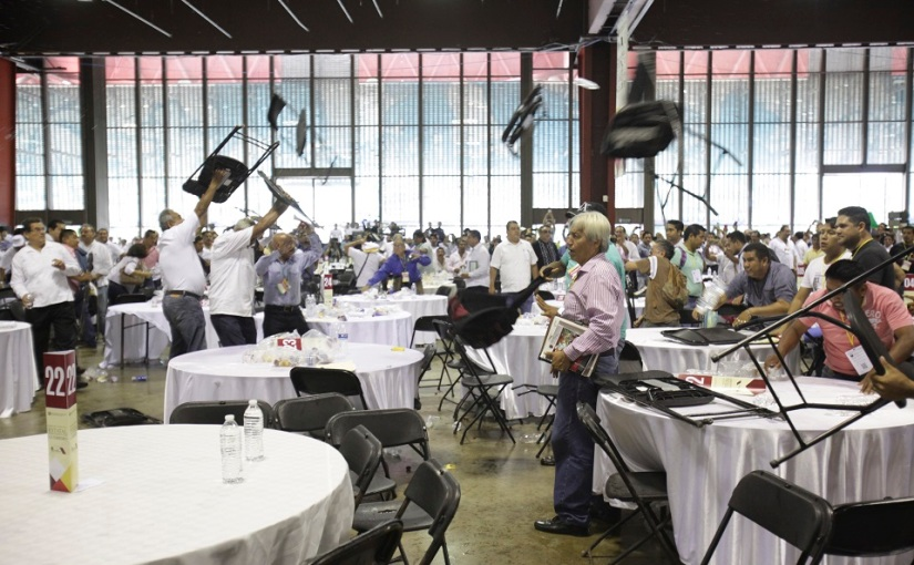 La CNTE abre su juego: fustigando los foros, va por la derogación —sin diálogo— de la reformaeducativa