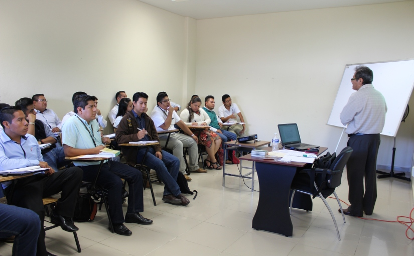Escuela Judicial capacita a notificadores delPJEO