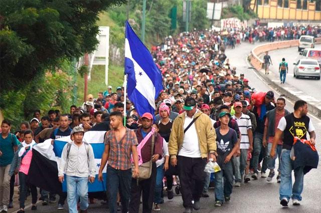 Explosión migrante