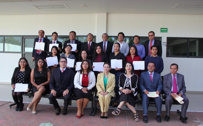 Clausura Villanueva Abraján curso para asesores jurídicos de atención avíctimas