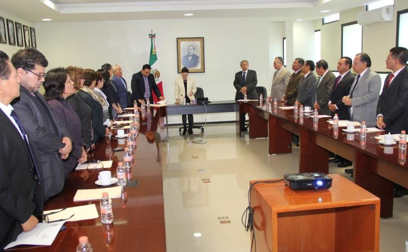 Poder Judicial del Estado clausura su segundo ordinario desesiones