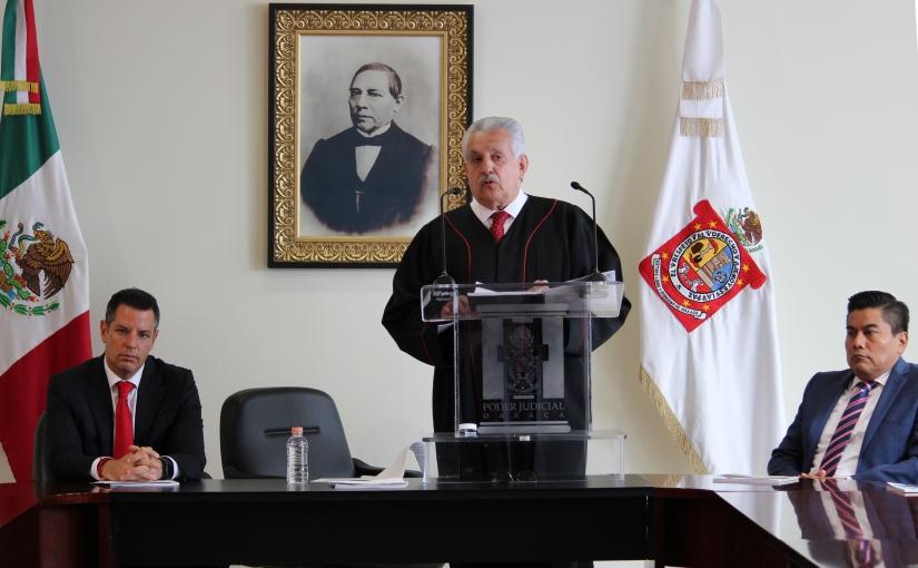 El Magistrado Raúl Bolaños Cacho rinde su 2º informe deactividades