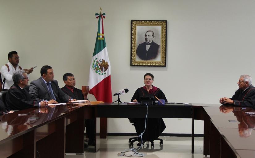 Designan a María Eugenia Villanueva como nueva titular del PoderJudicial