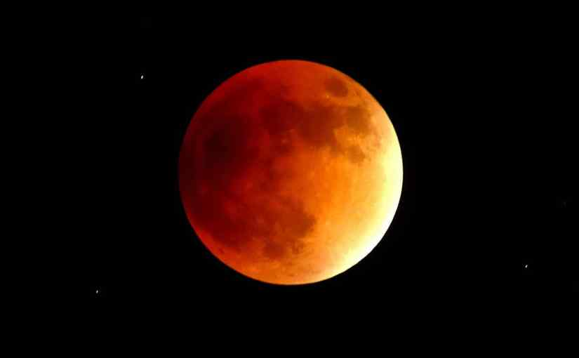 Gran eclipse de luna el21