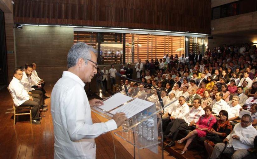 Lucha contra la corrupción premisa del PJE: Magistrado EduardoPinacho