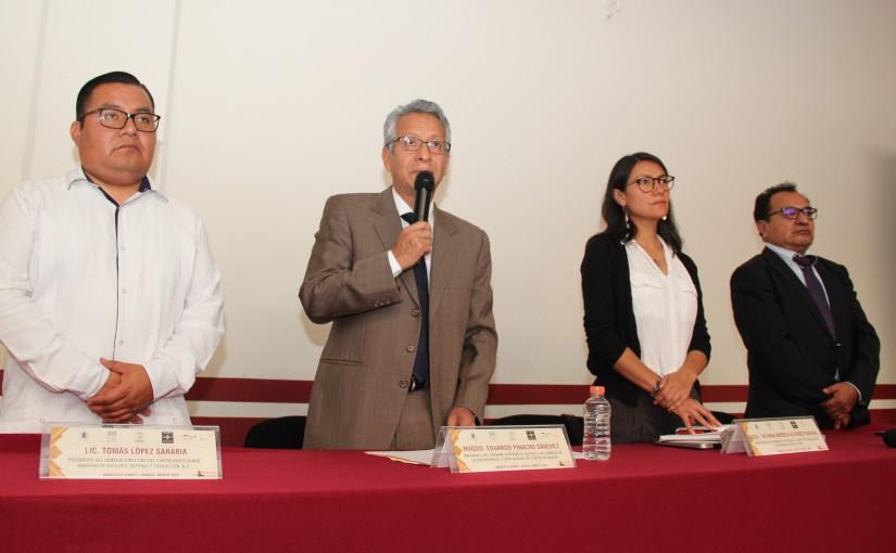 Impulsa PJE una administración de justicia con perspectivaintercultural