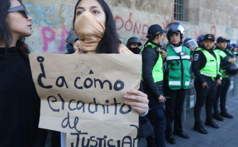 Digna protesta femenil