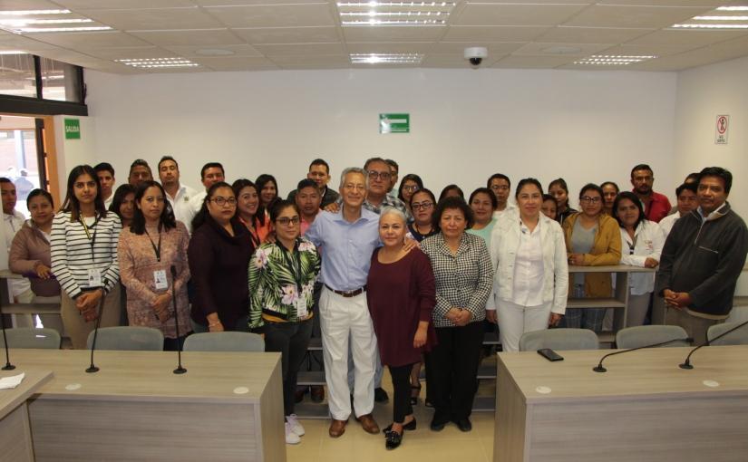 Recorre titular del PJE juzgados  en Ocotlán, Ejutla yMiahuatlán