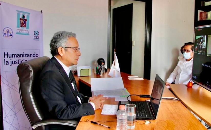 Ante contingencia, PJE no se encuentra paralizado: Magistrado EduardoPinacho