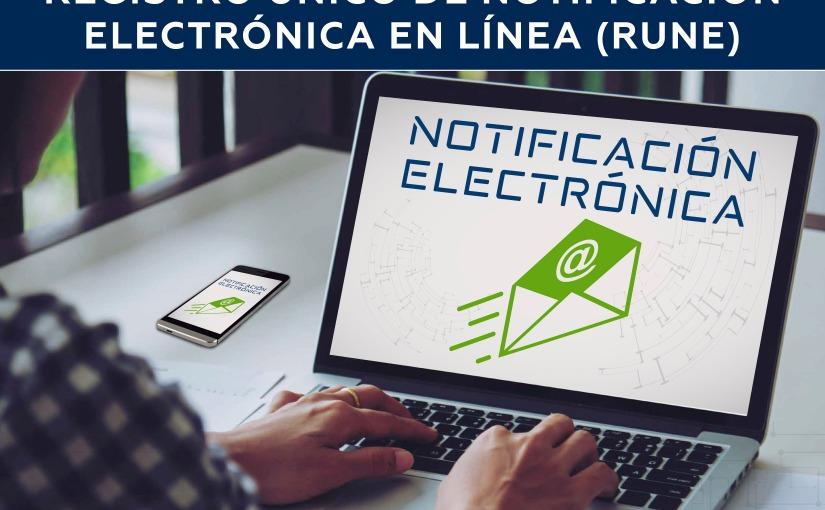 Agiliza proceso el PJE con registro único de notificaciónelectrónica