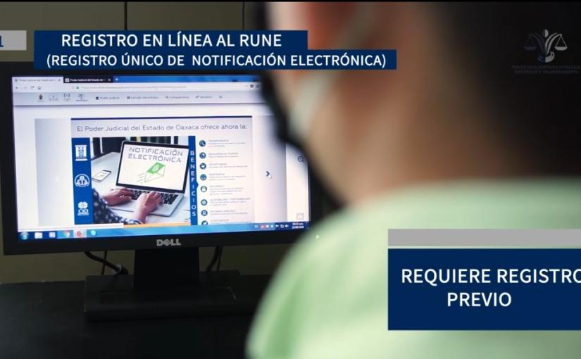 Sistema de notificación electrónica disposición de abogados: PoderJudicial