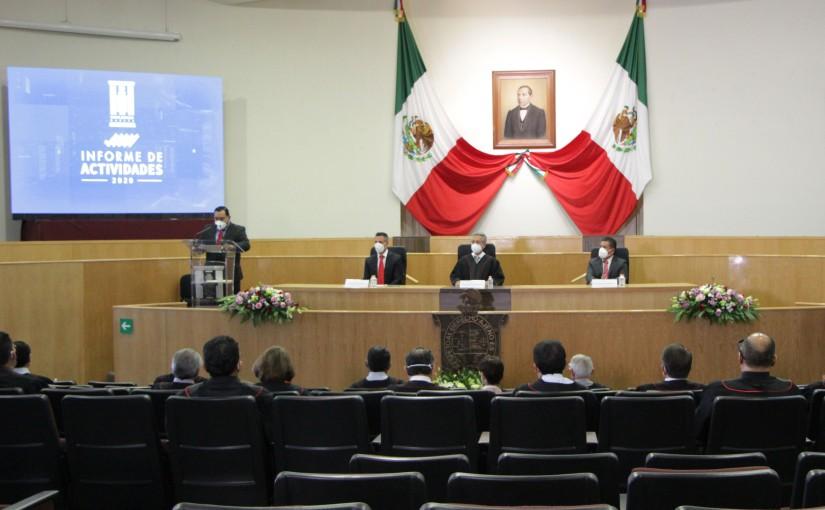 En tiempo de crisis o normalidad cumple Poder Judicial suencomienda