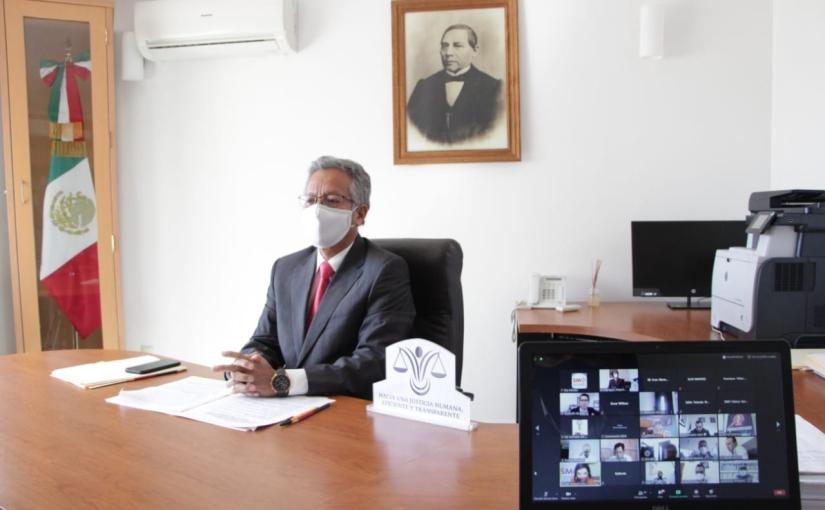 Informe del titular del Poder Judicial será esteLunes