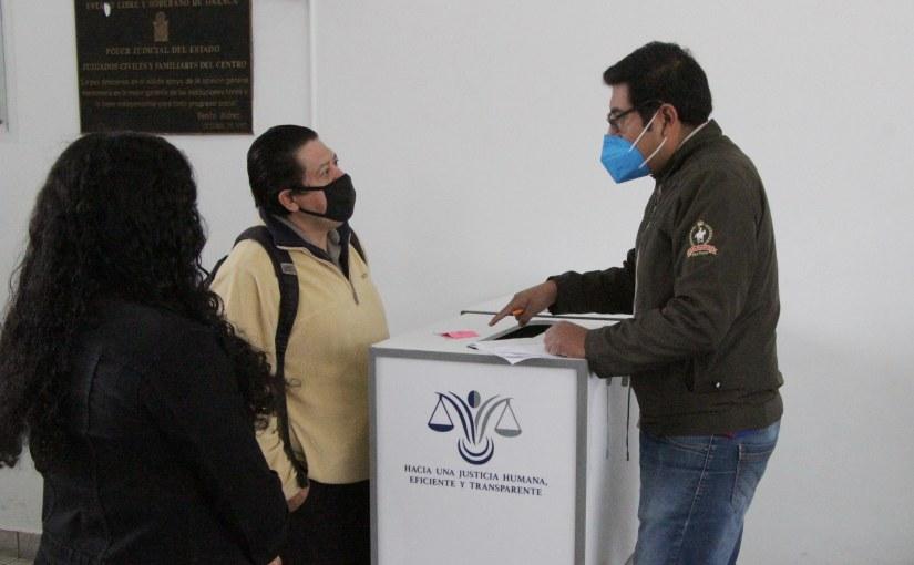Continúa Poder Judicial de Oaxaca retorno gradual deactividades