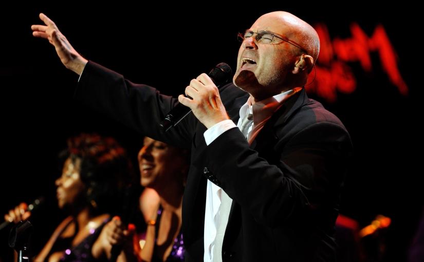 Phil Collins: celebrando sugenialidad