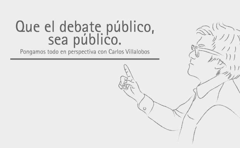 Que el debate público, seapúblico