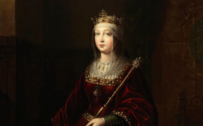 Colón e Isabel lacatólica